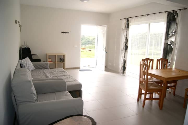 House with 2 bedrooms in Conceição, with wonderful sea view, enclosed garden and WiFi - 800 m from the beach
