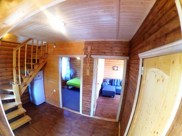 """Бревенчатый коттедж """"Eco House"""" - Novomikhaylovskiy - Casa"""