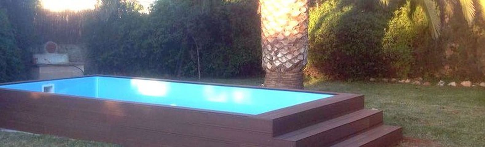 RUSTIC HOUSE WHITH JACUZZI-POOL - Es Llombards - House