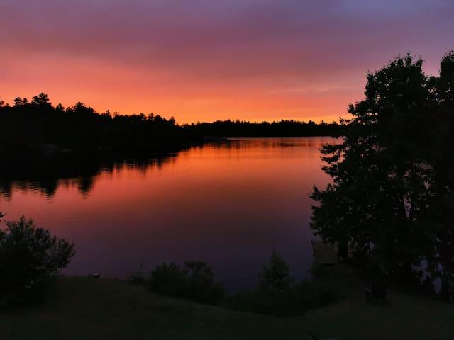 Beautiful cottage on the lake