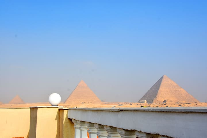 Sufi Great Pyramids Inn including breakfast & tour