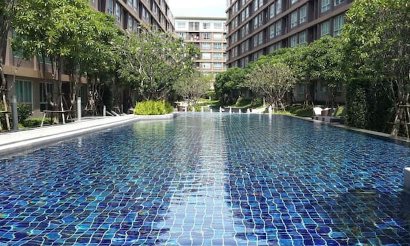 Entire apartment at D condo creek near Patong