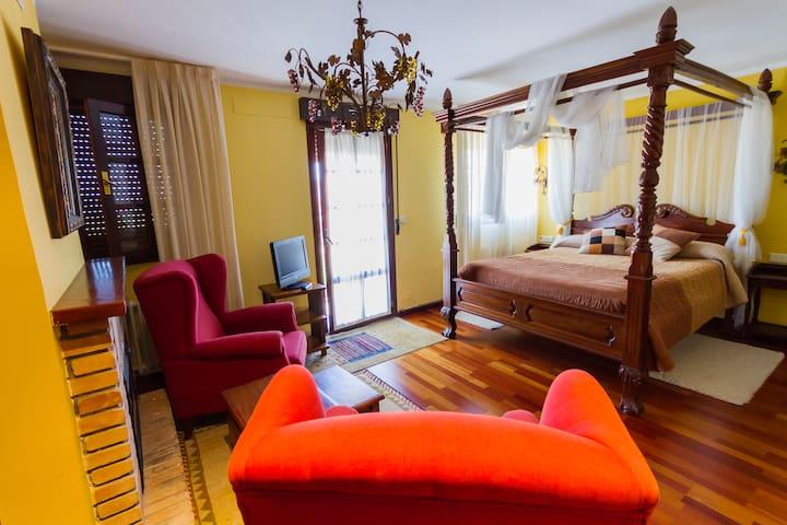 Suite en el Hotel Rural Lacelo