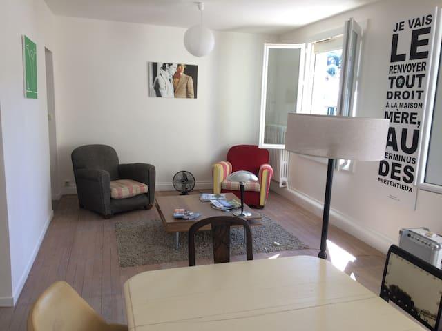 Appartement 70m2 refait à neuf à 2 pas du centre - Tulle - Apartament