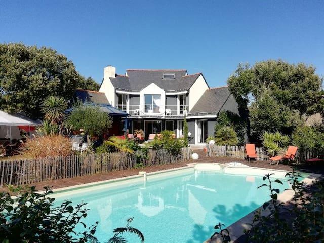 ⭐Villa de luxe avec piscine vue mer⭐