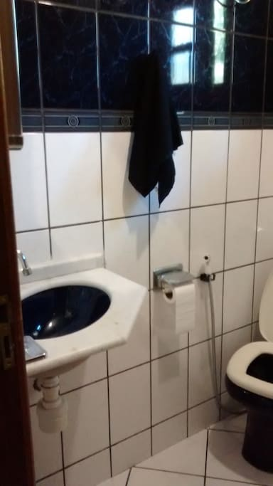 Banheiro da parte de baixo (ala social da casa)