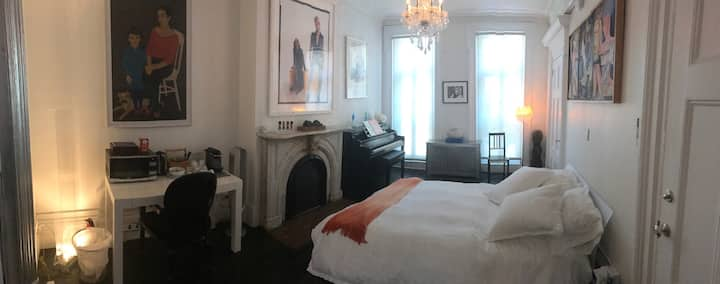 Beautiful private suite-like 2FL apt. West Village