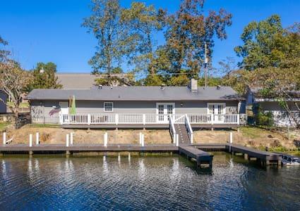 Lake Hamilton Waterfront Home
