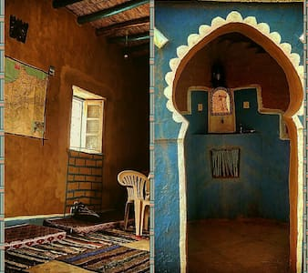 casa azul mezane - Merzane - Bed & Breakfast
