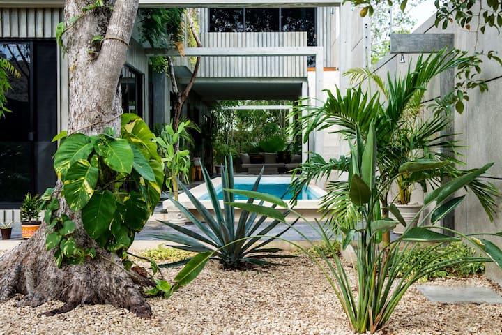 Tulum's Award Winning 3 Bedroom Villa with Pool