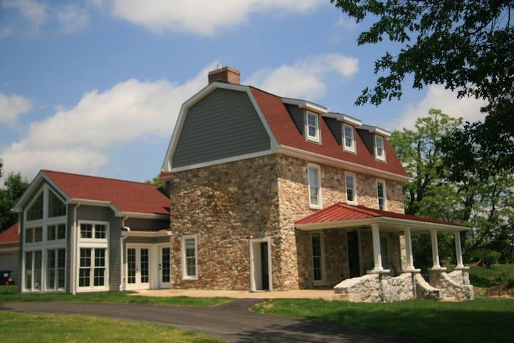 Farmhouse on Active Farm