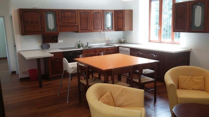 Residenza Lilia piano terra. - Premosello-Chiovenda - Apartamento