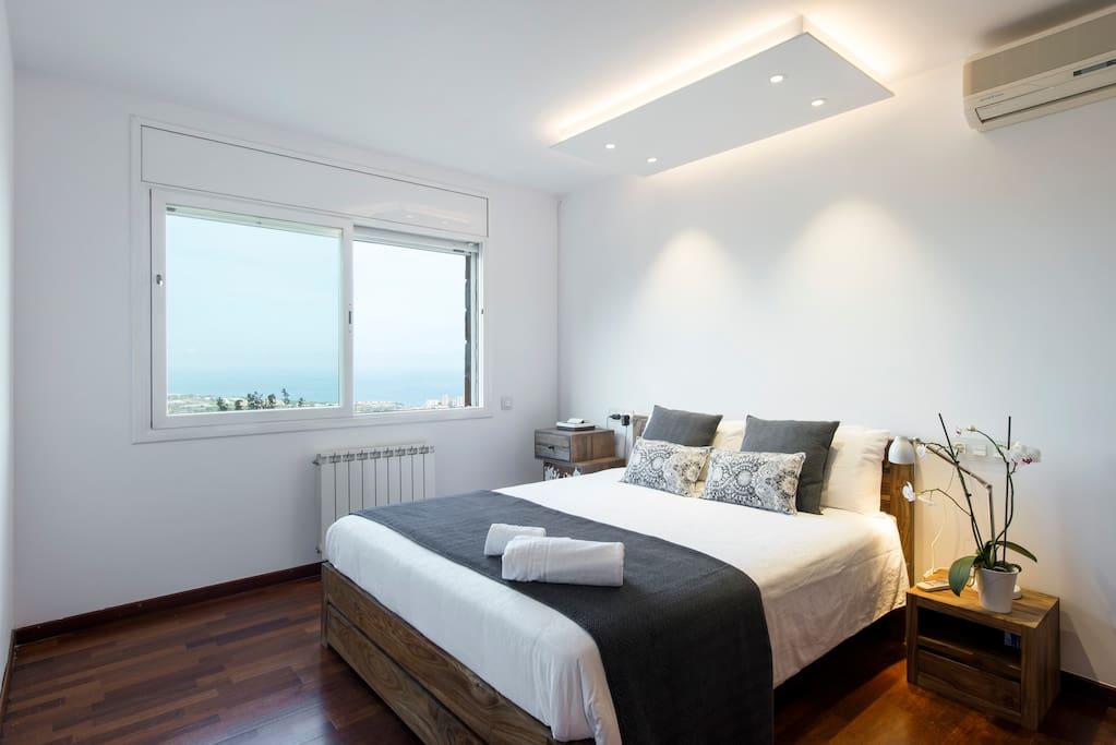 Main floor - room 1 with sea views