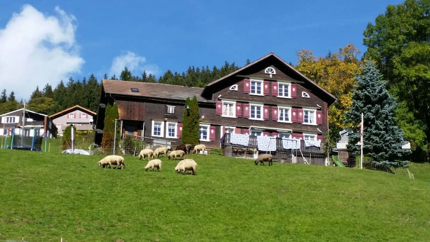 Original Toggenburger Farmhouse