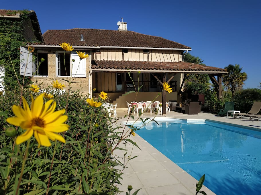 Côté piscine Halabert