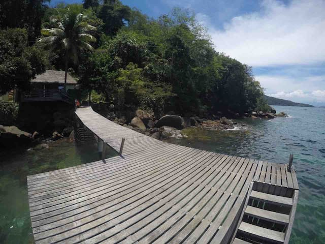Casa ilha grande , Sitio forte