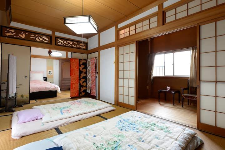 Nara Sta. Retro House Kyoto Osaka