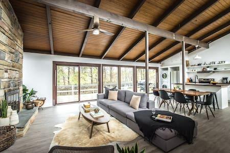 Midcentury Modern Cottage in Mount Pocono