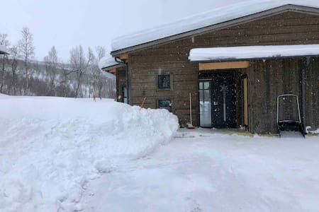 Nybyggd stuga Hemavan ski in/out skidlift/nedfart
