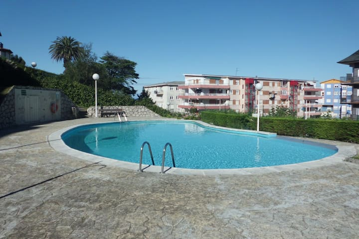 Apartamento en Suances junto a playa de La Concha - Suances - Apartment