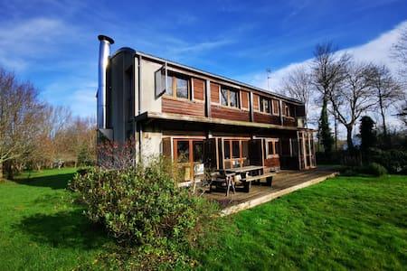 Maison structure bois lumineuse, calme et nature
