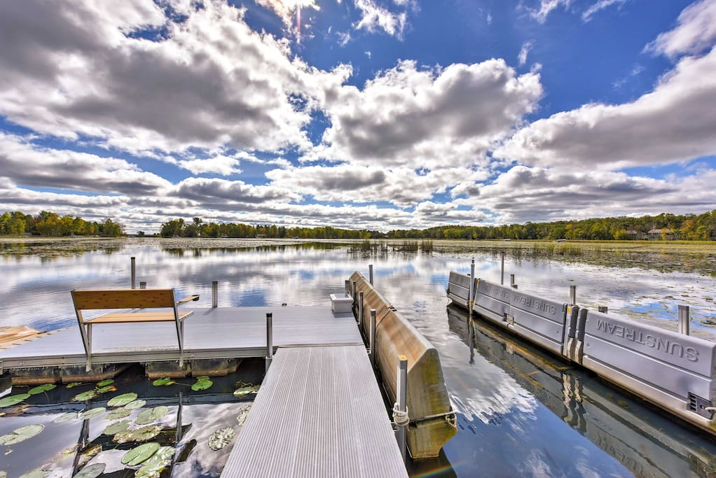 Situated right on the beautiful Pelican Lake, this home promises an adventurous getaway!
