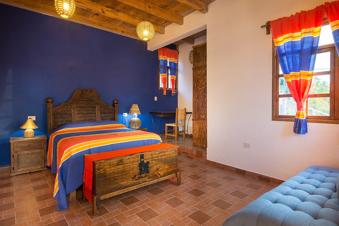 Private rustic suite with the local style of Pátzcuaro and surroundings