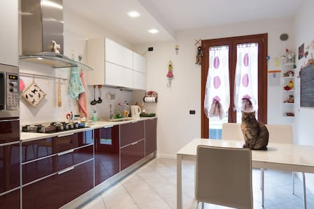 Private room & bathroom for cat lovers - Villanova di Camposampiero - Huoneisto