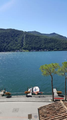 Full Lago di Lugano View Apartment - Morcote - Apartment