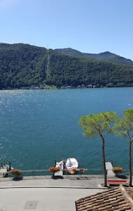 Full Lago di Lugano View Apartment - Morcote - Daire