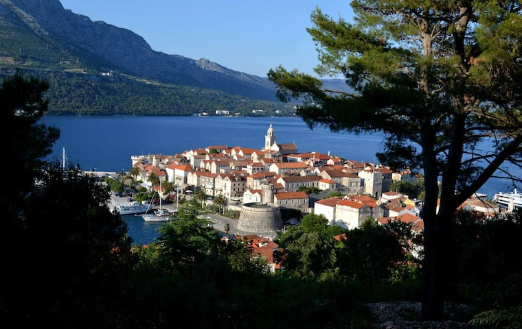 Korcula Seafront Apartment - 科爾丘拉 - 公寓