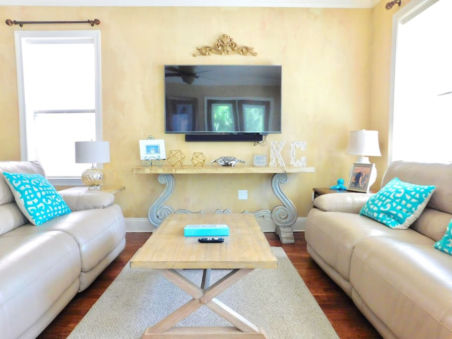 Beautiful Living Area on First Floor