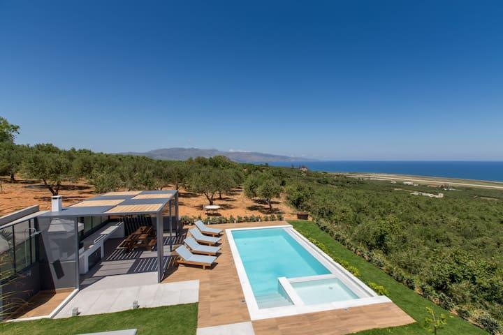 Brand new lux villa★Private Pool★ Seaview & BBQ
