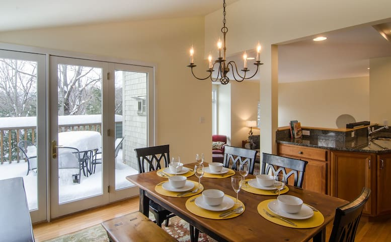 4 Bedroom Luxury Townhouse Close to All Quechee Amenities
