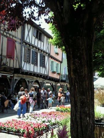 Casa medieval en pleno centro de Mirepoix