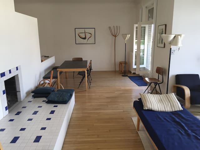 Chimney / Living Room