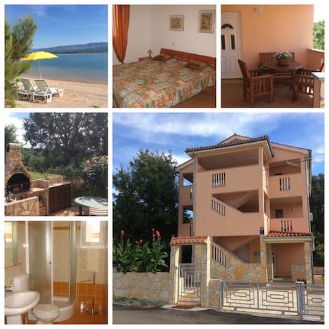 villa coral in klimno 100m to sea - Klimno - Apartment