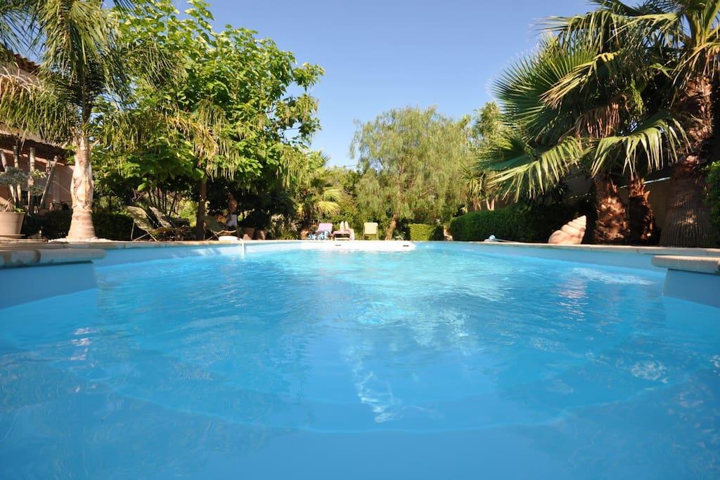 Abord de piscine