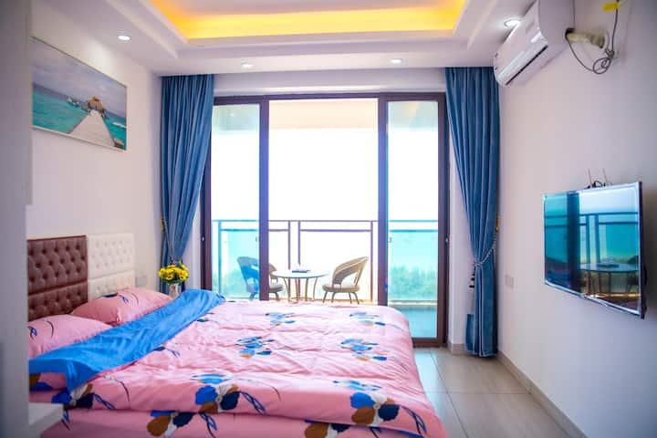 视觉品海海景大床房