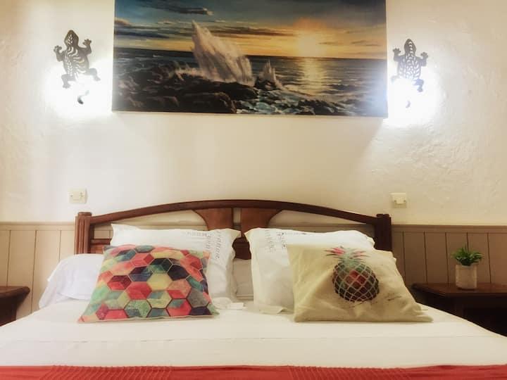 Charmante chambre - 3 épis pleine nature vue mer