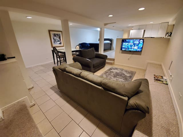 Cozy Basement Apt in Medical District & Parking