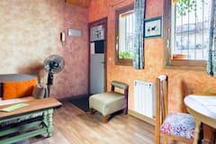 Unique+and+bright+rustic+apartment+in+the+heart+of+La+Latina