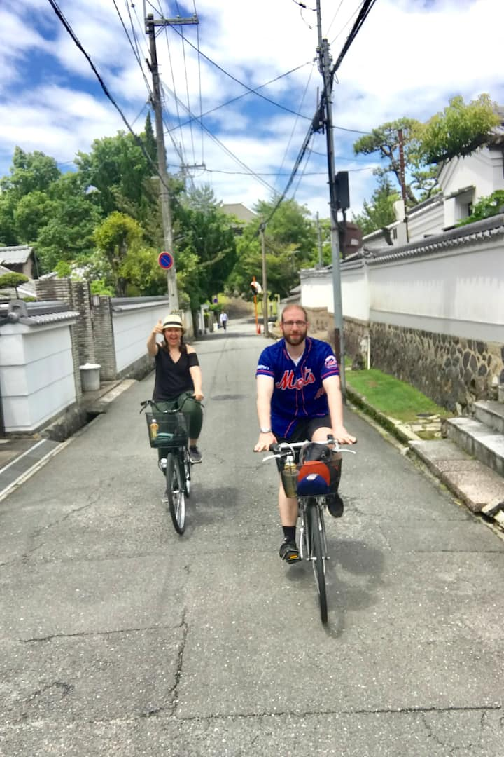 Cycling through old neighborhoods