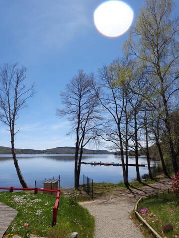 Maison hameau du lac