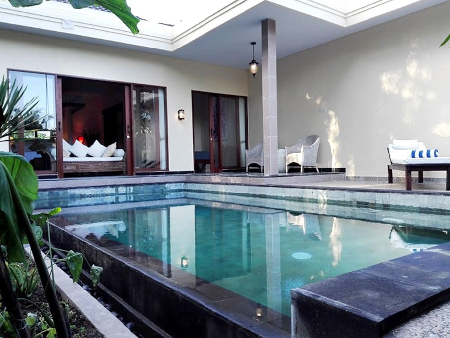 Villa Ananda is a luxury villa with its own private pool and garden.