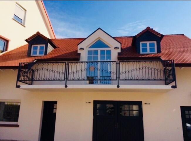 Schicke 2-Zimmer Wohnung im Ortskern Biebesheim