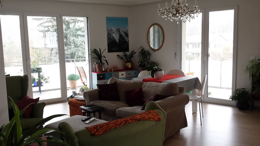 Spacious bright flat close to UN and city center