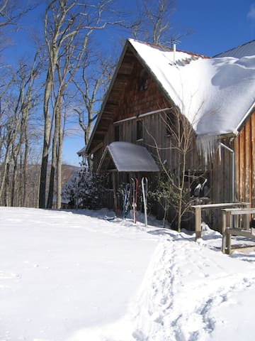 Direct Trail Access for Cross Country Skiing