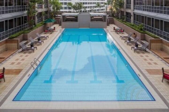 Junior Master room w/ ensuite near River, CBD, MRT - Singapore - Kondominium