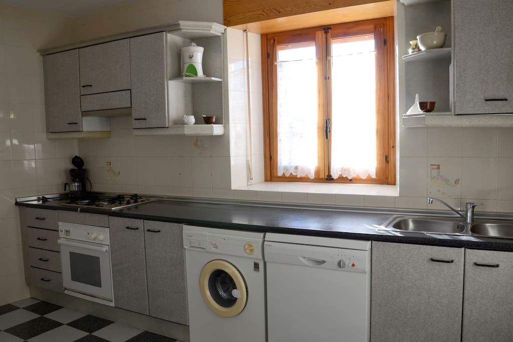 Cocina casa. 1